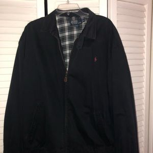 Men's Ralph Lauren Summer Jacket Navy w/plaid